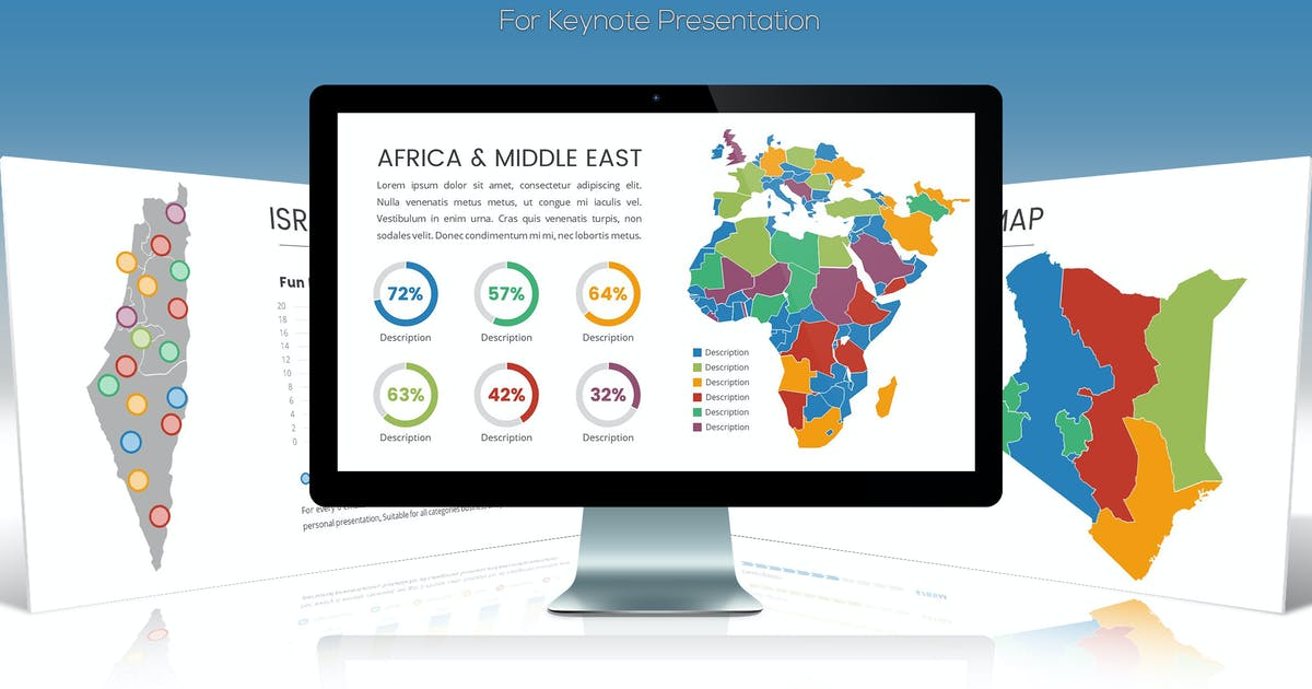 Download Africa & Middle East Maps for Keynote by Unknow
