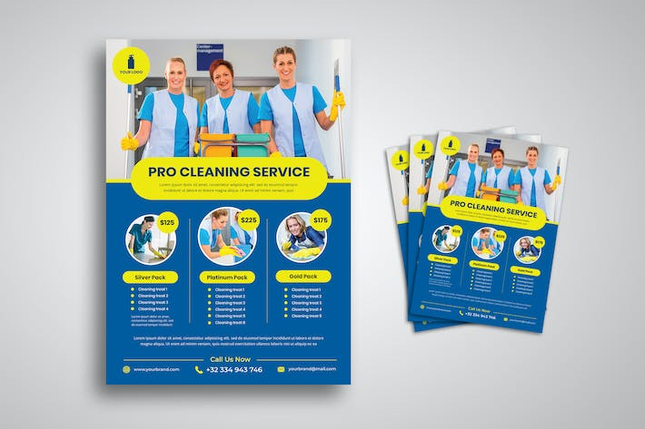 Thumbnail for Cleaning Service Flyer