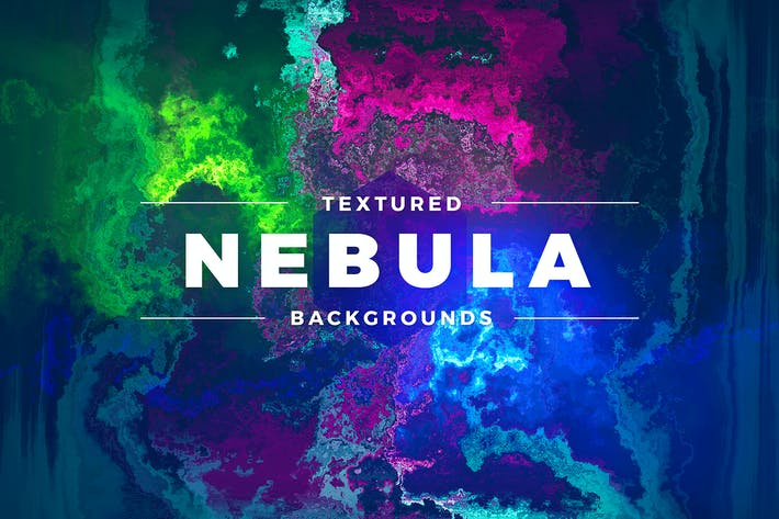 Cover Image For Textured Nebula Backgrounds
