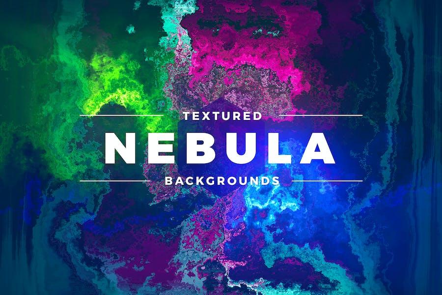Textured Nebula Backgrounds
