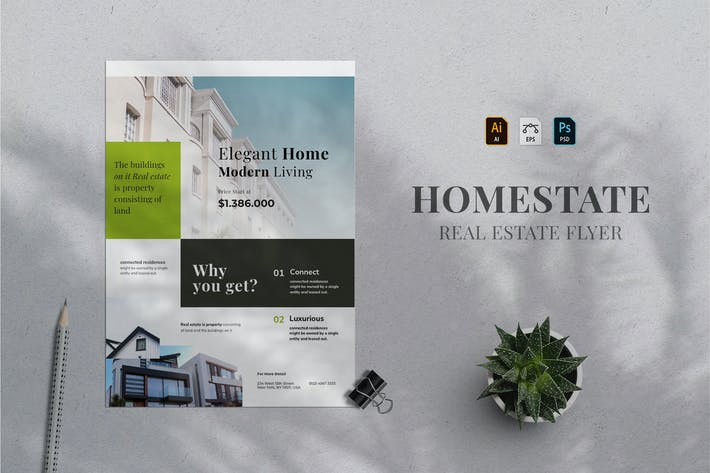 Thumbnail for Real Estate Flyer 08