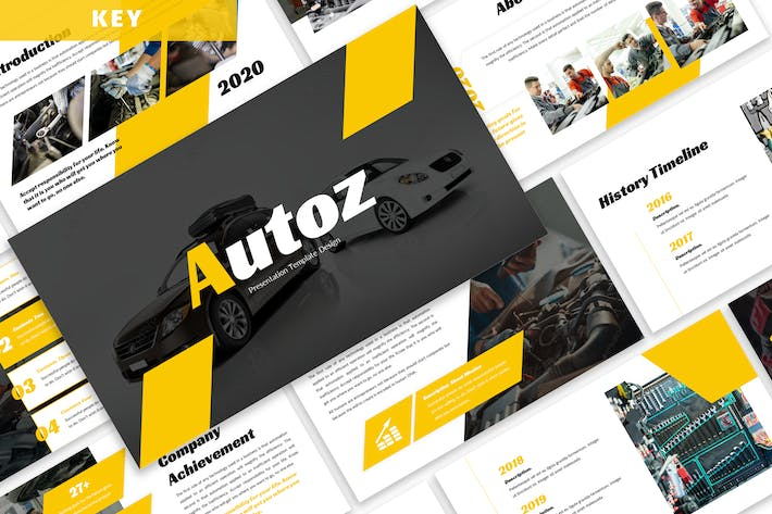 Thumbnail for Autoz - Business Keynote Template