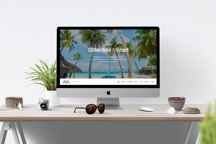 Thumbnail for Clifton Hotel - One-Page Parallax HTML5 Travel