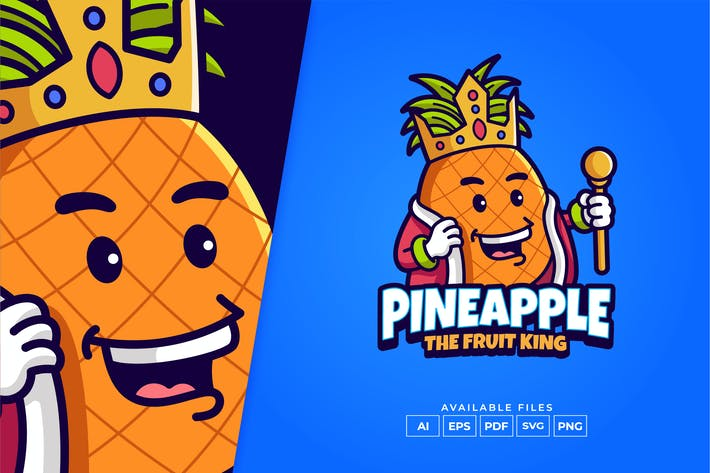 Ananaskönig Logo