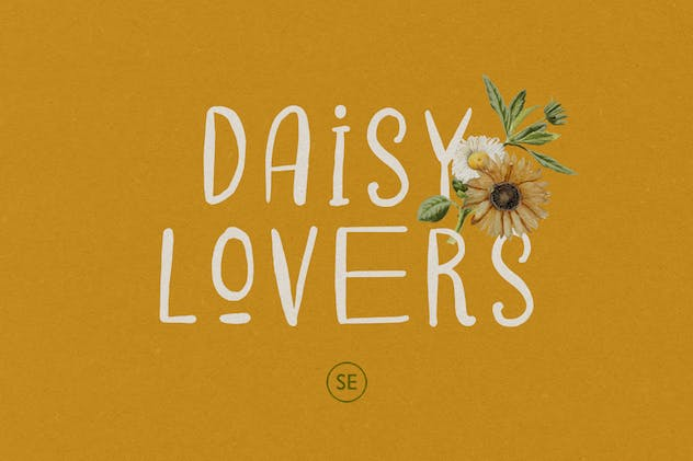 Daisy Lovers - Handwritten Sans - product preview 5