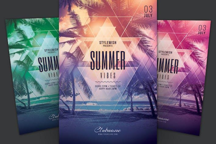 Thumbnail for Summer Vibes Flyer