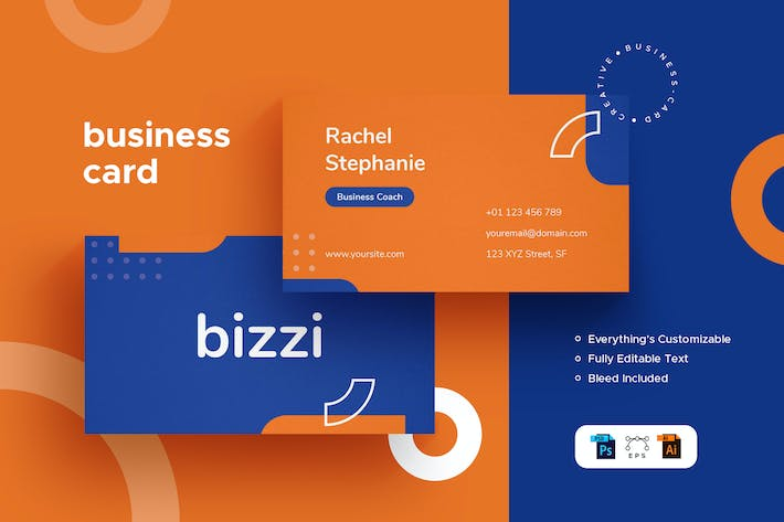 Thumbnail for Bizzi - Business Card - Stationery Kit