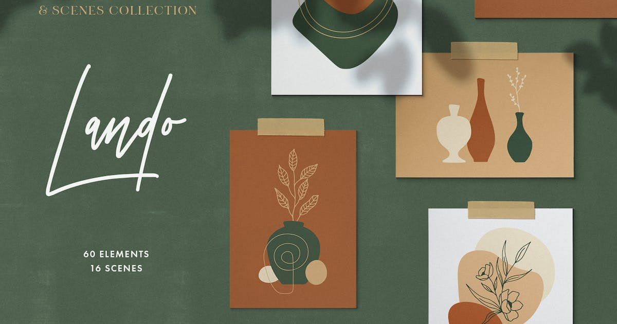 Download Natural Shapes & Scenes Collection by pixelbuddha_graphic