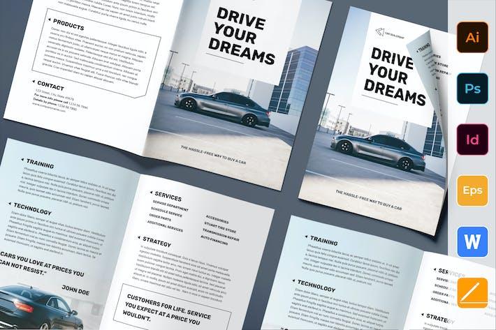 Thumbnail for Autohändler Broschüre Bifold