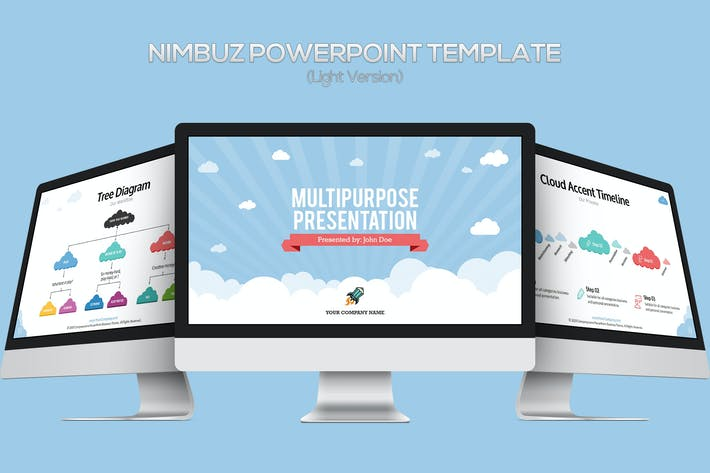 Thumbnail for Nimbuz Powerpoint Template