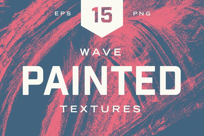 Cover Image For Painted Wave Textures