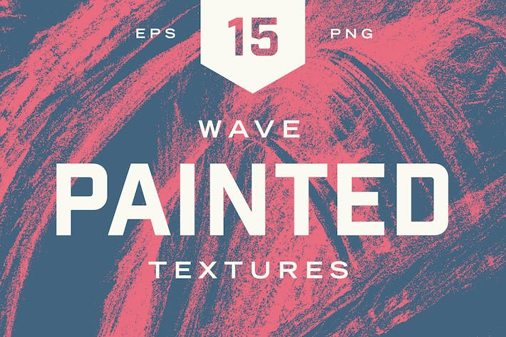 Thumbnail for Painted Wave Textures