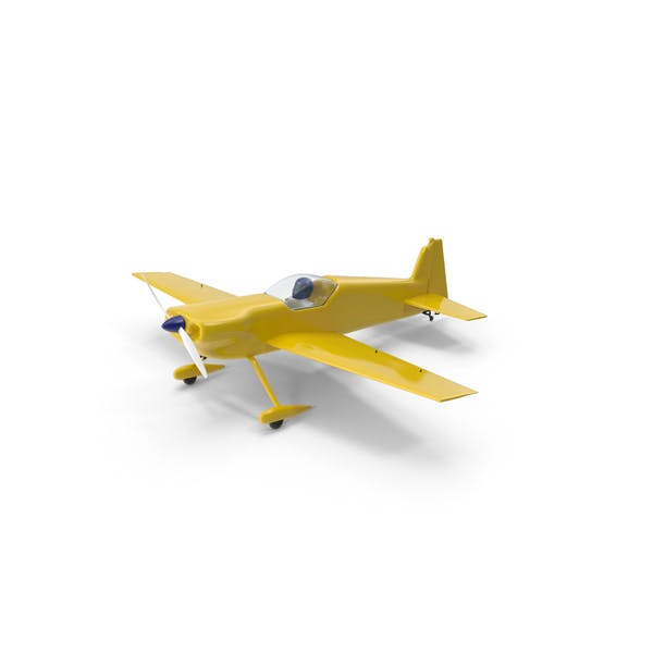 Thumbnail for Yellow Toy Sport Plane
