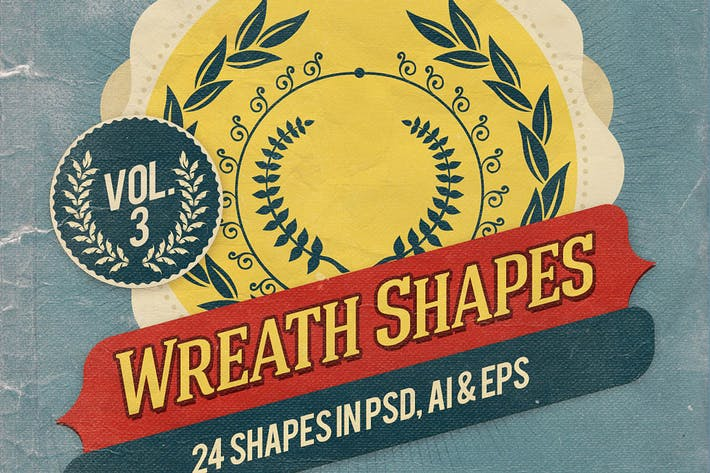 Thumbnail for Wreath Shapes Vol.3