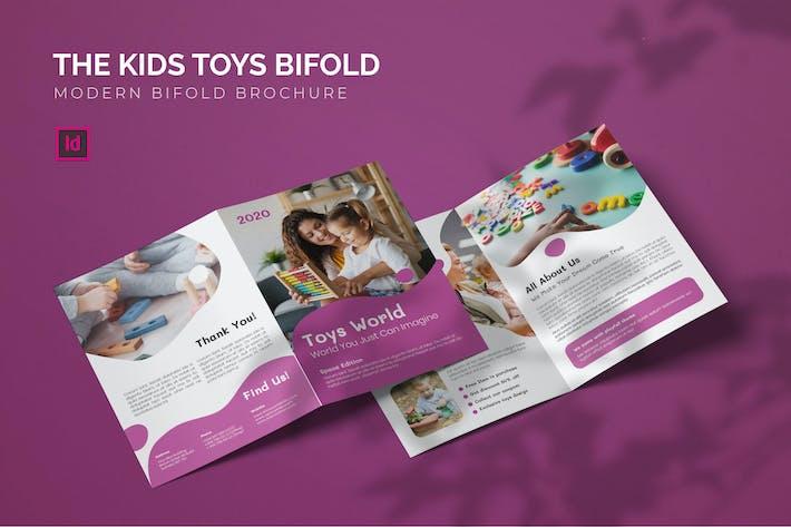 Thumbnail for Kids Toys - Bifold Brochure