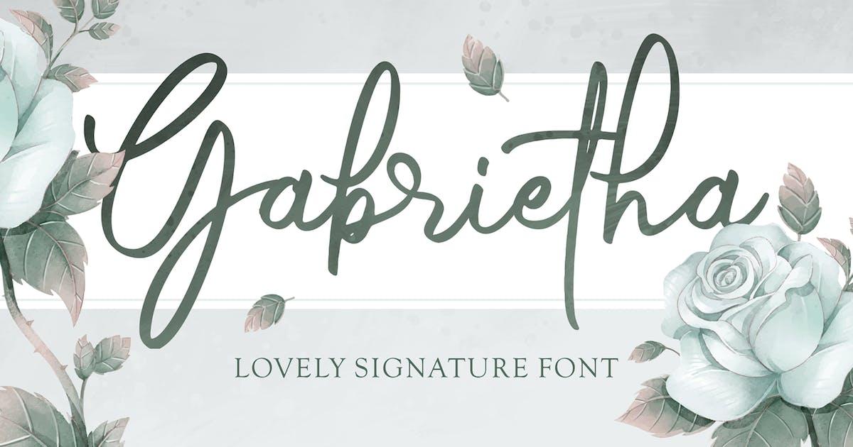 Download Gabrietha - Lovely Signature by deemakdaksinas