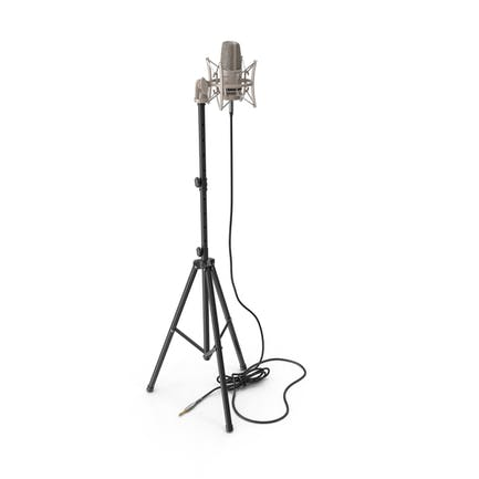 Condenser Microphone with Stand