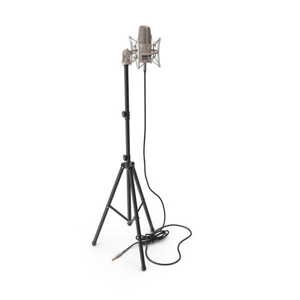 Thumbnail for Конденсаторный микрофон с подставкой