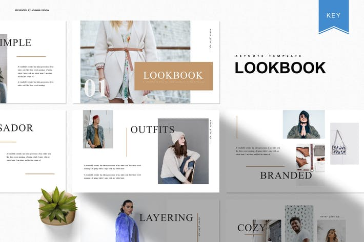 Thumbnail for Lookbook | Keynote Template