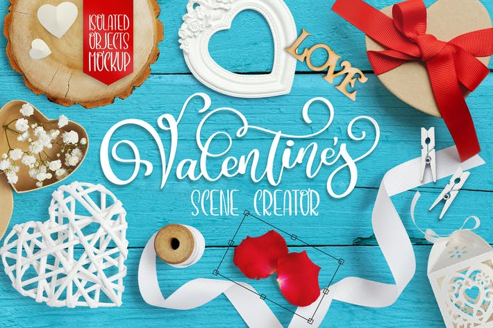 Thumbnail for Valentine scene creator
