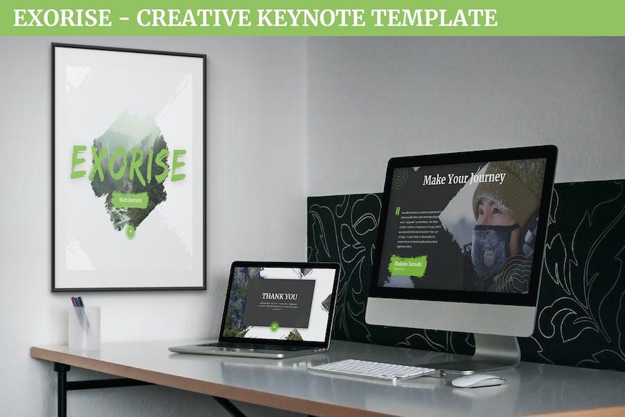 Exorise - Creative Keynote Template