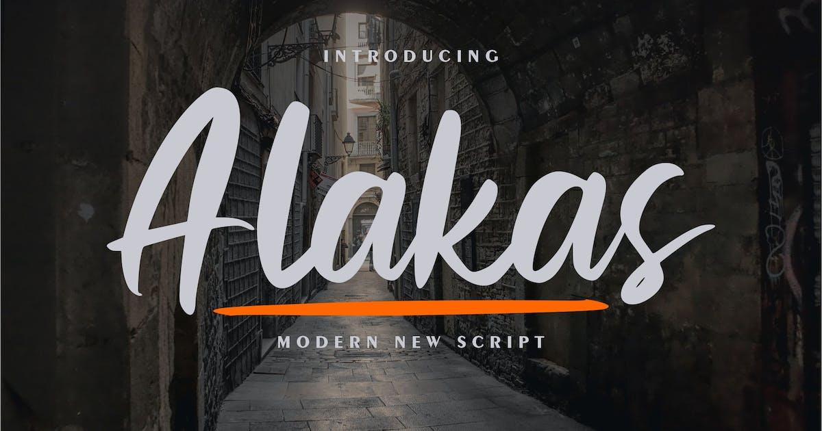 Download Alakas | Modern New Script by Vunira