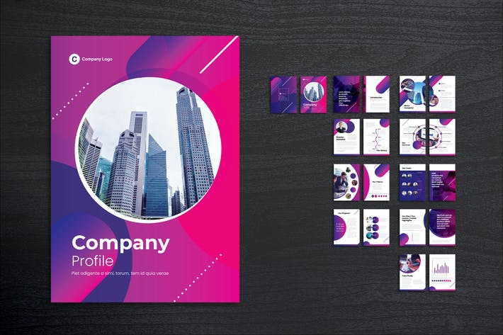 Cover Image For Company Profiles for Creative Agency