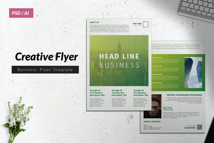 Thumbnail for Creative Business Flyer Vol. 18