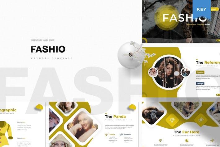 Thumbnail for Fashio | Шаблон Keynote