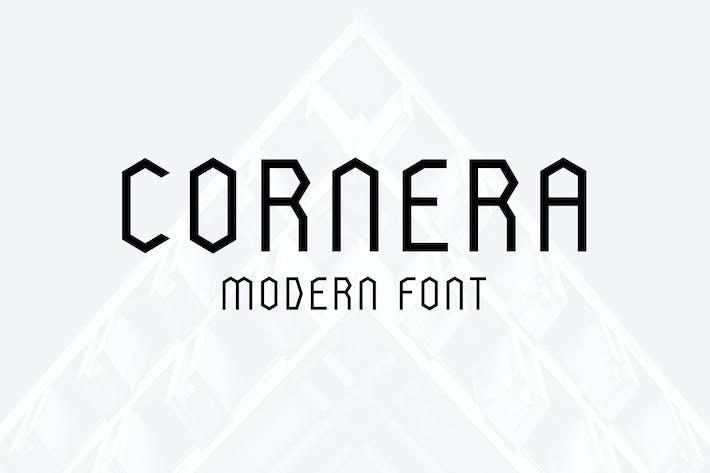 Thumbnail for Cornera Font