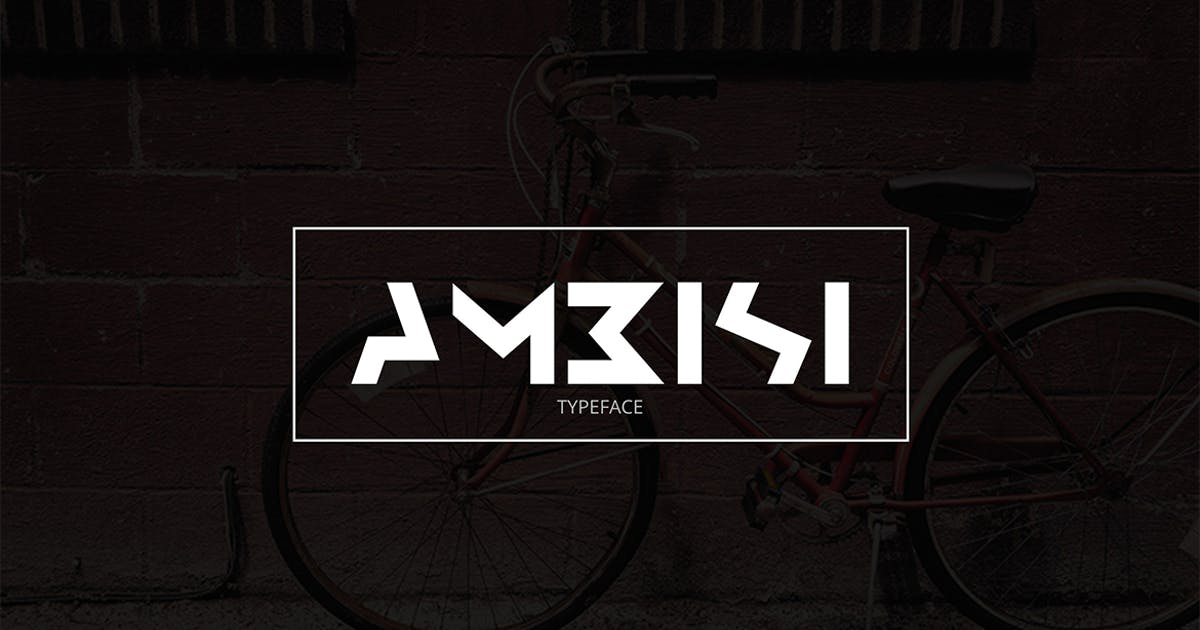 Download Ambisi Typeface Font by sameehmedia