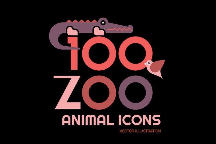 Thumbnail for 100+ Zoo Animal Icons