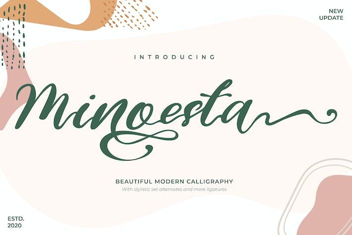 Thumbnail for Minoesta | Hermosa Caligrafía Moderna