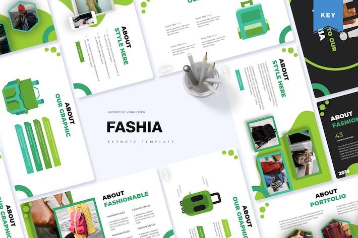 Thumbnail for Fashia | Keynote Template