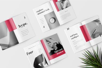 Hype - Catalogue Lookbook de mode