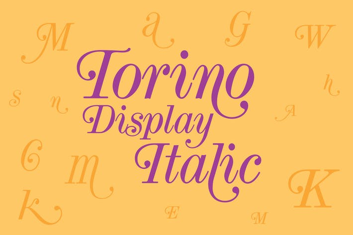 Thumbnail for Torino Display Italic