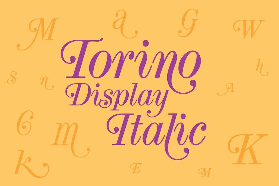 Torino Display Italic