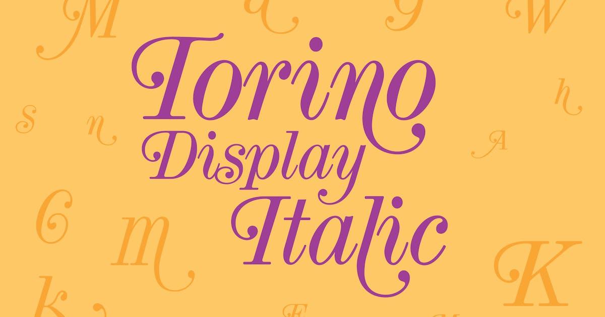 Download Torino Display Italic by WalcottFonts