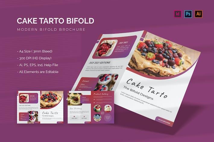 Kuchen Tarto - Bifold Broschüre