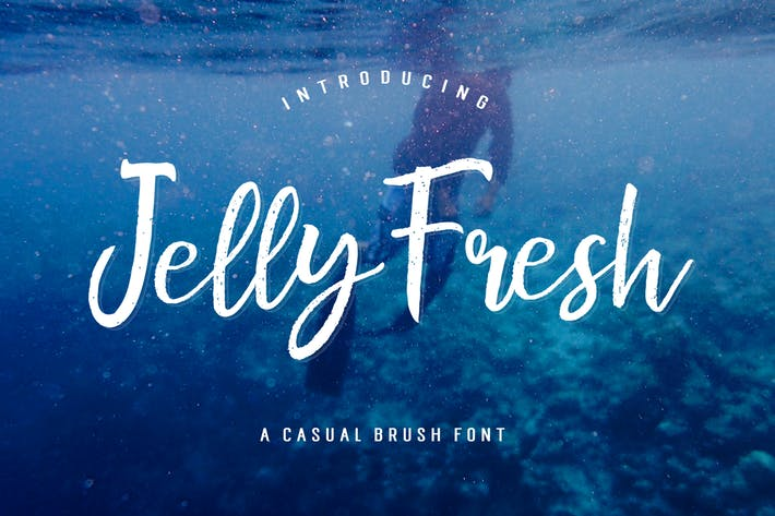 Thumbnail for Jelly Fresh Brush Script