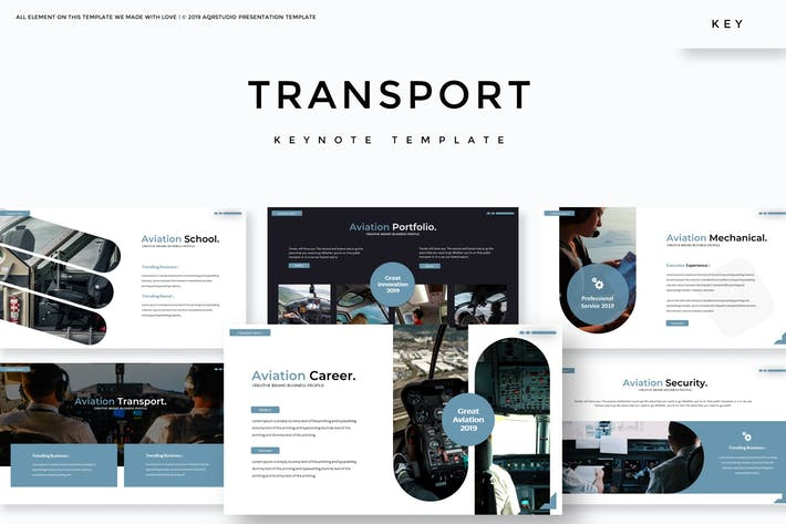 Thumbnail for Transport - Keynote Template