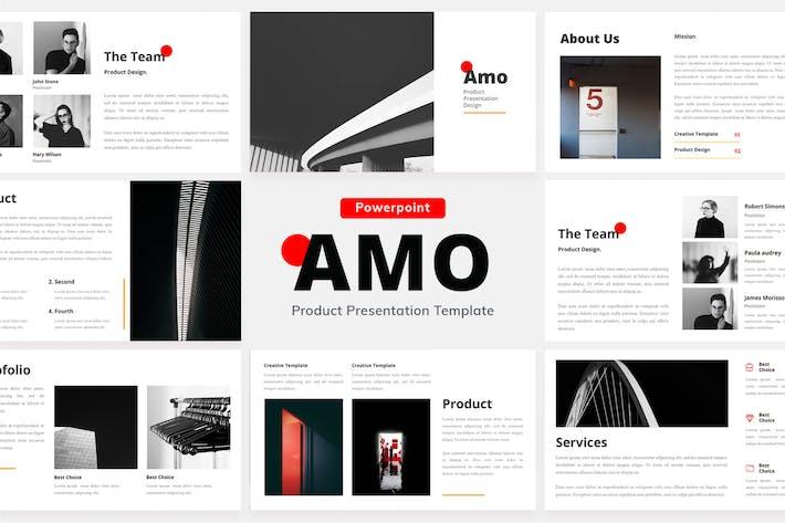 AMO - Powerpoint Präsentationsdesign