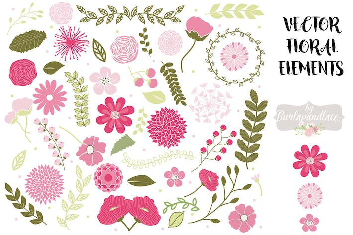 Thumbnail for Vector Spring flowers clipart