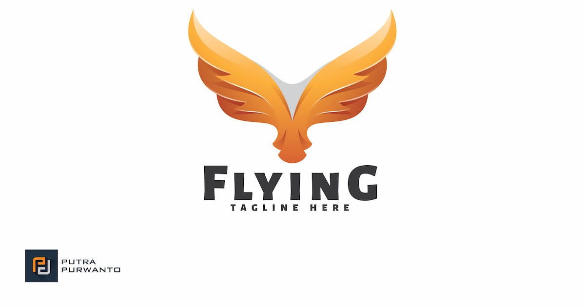 Download Flying - Logo Template by putra_purwanto