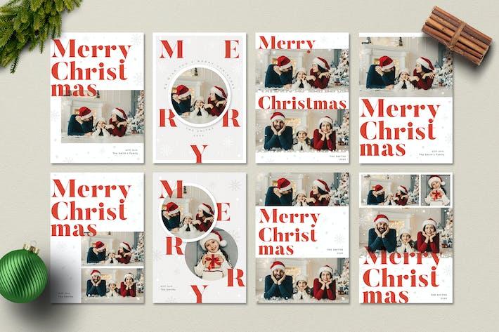 Thumbnail for Christmas Photo Card / Holiday Card