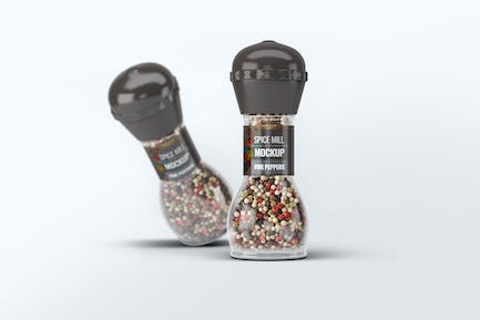 Spice Mill Mock-Up