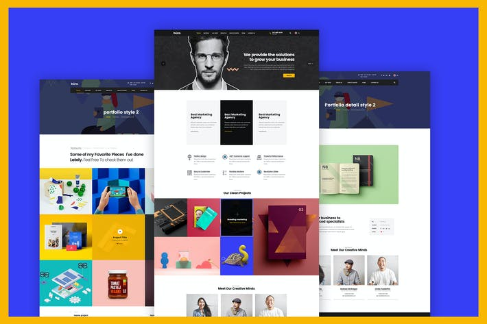 Thumbnail for Build Your Own Business Website Design Template
