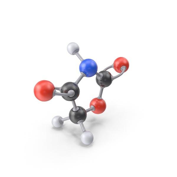 Cover Image for Oxazolidinedione Molecule