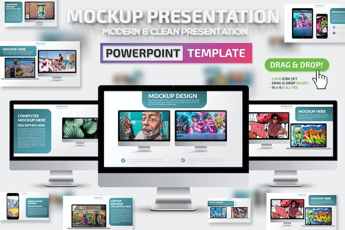 Thumbnail for Mockup Keynote Presentation