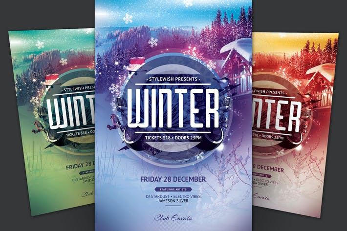 Cover Image For Winter Flyer